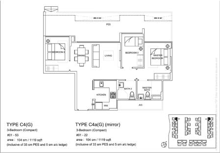 LA FIESTA floor plan